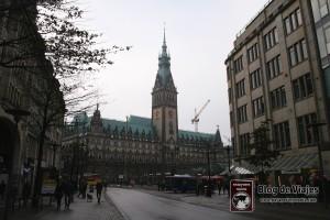 Rathaus - Town Hall - Ayuntamiento de Hamburgo
