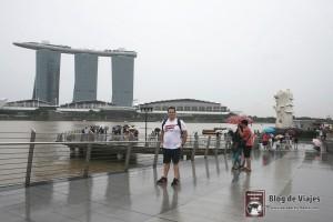 Merlion en Singapur