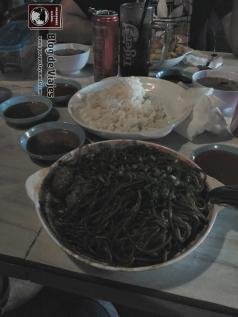 Borneo - Sabah - Kota Kinabalu - Fried noodles with rice-mod