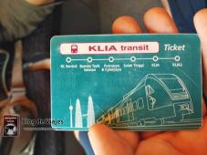 Kuala Lumpur - Tarjeta KLIA Transit-mod