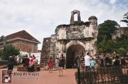Melaka - A Famosa - Porta Do Santiago-mod