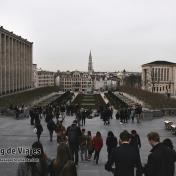Bruselas Mont des Arts Garden (1)
