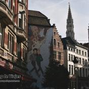 Bruselas Murales de Tintin