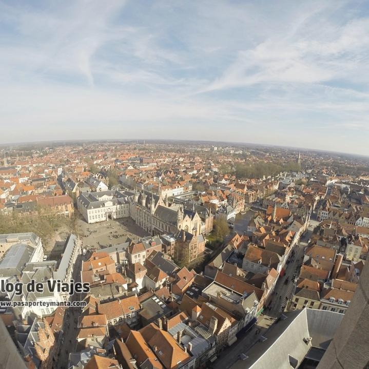 Brujas Vistas desde el Campanario Belfort (2)-mod