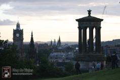 ESCOCIA Edimburgo - Castillo desde Calton Hill (2)