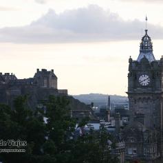 ESCOCIA Edimburgo - Castillo desde Calton Hill