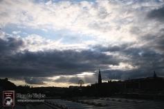 ESCOCIA Edimburgo - Skyline desde Waverley Station