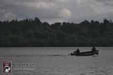Pescadores en el Lago Ness Inverness Escocia