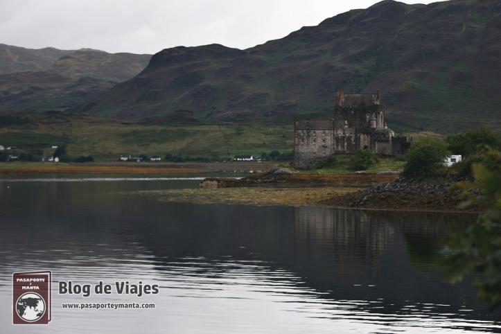 Vista exterior del Castillo de Doune Escocia
