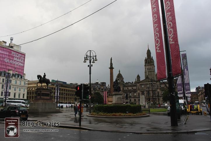 Escocia - Glasgow - Plaza de San Jorge