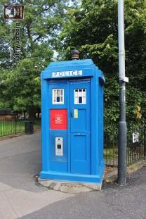 Escocia - Glasgow - Police Box