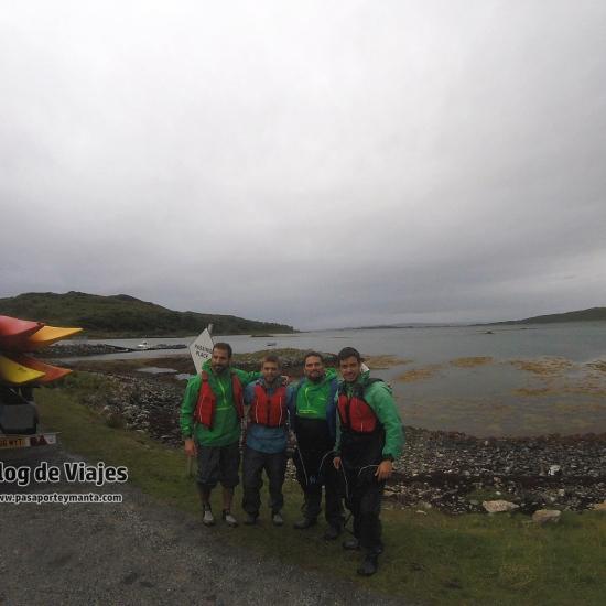 Escocia - Kayak en Arisaig (3)