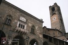 Bergamo Italia - Piazza Vechia