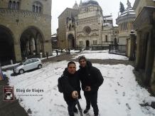 Bergamo Italia - Piazza Vechia-mod