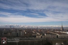 Skyline de Turin Italia