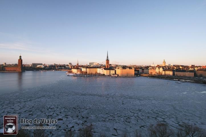 Monteliusvägen Mirador de Estocolmo