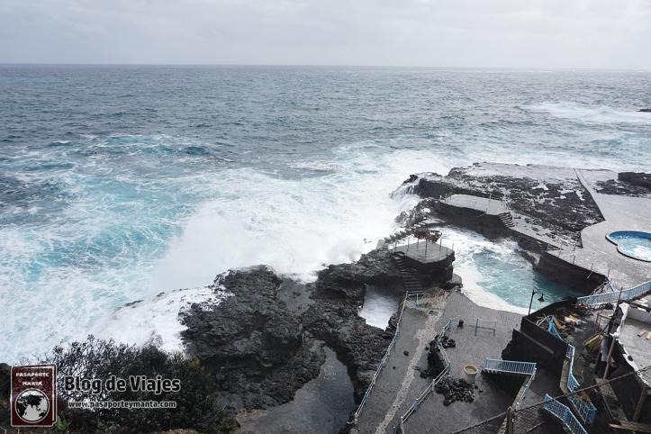 La Palma - Piscinas Naturales El Charco Azul