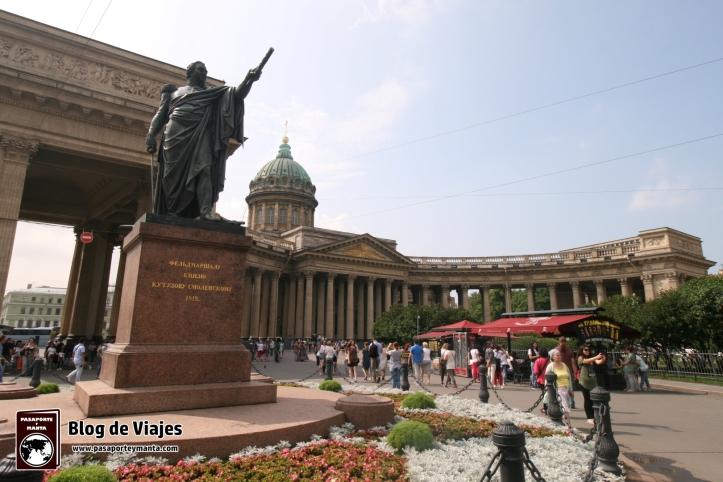 San Petersburgo Catedral de Kazán