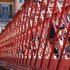 Girona - Puente de Hierro - Pont de les Peixateries Velles (1)